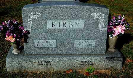 KIRBY, BRIGGS - Gallia County, Ohio | BRIGGS KIRBY - Ohio Gravestone Photos