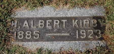 KIRBY, H. ALBERT - Gallia County, Ohio   H. ALBERT KIRBY - Ohio Gravestone Photos