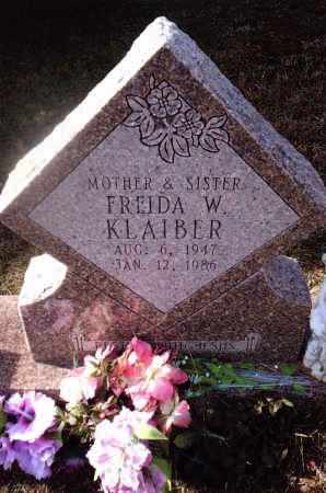 COCHRAN KLAIBER, FREIDA W. - Gallia County, Ohio   FREIDA W. COCHRAN KLAIBER - Ohio Gravestone Photos