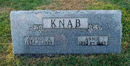 BRIMBLE KNAB, ANNIE - Gallia County, Ohio | ANNIE BRIMBLE KNAB - Ohio Gravestone Photos