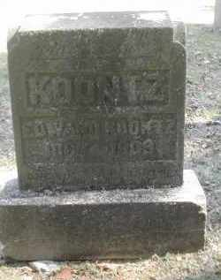 KOONTZ, EDWARD - Gallia County, Ohio | EDWARD KOONTZ - Ohio Gravestone Photos