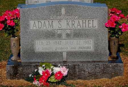 KRAHEL, ADAM S - Gallia County, Ohio | ADAM S KRAHEL - Ohio Gravestone Photos