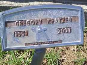 KRATZER, GREGORY - Gallia County, Ohio | GREGORY KRATZER - Ohio Gravestone Photos