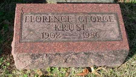 KRUSE, FLORENCE - Gallia County, Ohio | FLORENCE KRUSE - Ohio Gravestone Photos