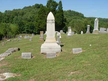 KYGER, CEMETERY OVERVIEW - Gallia County, Ohio | CEMETERY OVERVIEW KYGER - Ohio Gravestone Photos