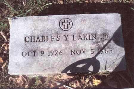 LAKIN, CHARLES Y. - Gallia County, Ohio | CHARLES Y. LAKIN - Ohio Gravestone Photos