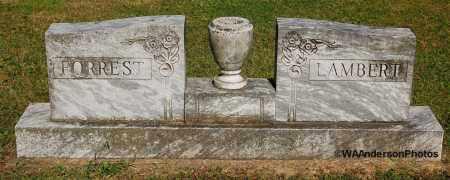 LAMBERT-FORREST, HEADSTONE - Gallia County, Ohio | HEADSTONE LAMBERT-FORREST - Ohio Gravestone Photos