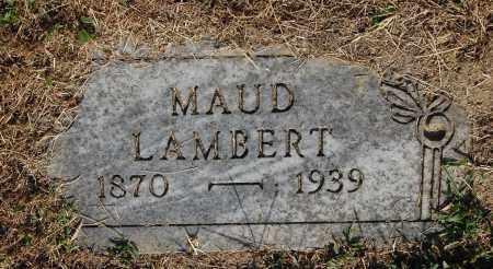 MCALLISTER LAMBERT, MAUD - Gallia County, Ohio | MAUD MCALLISTER LAMBERT - Ohio Gravestone Photos