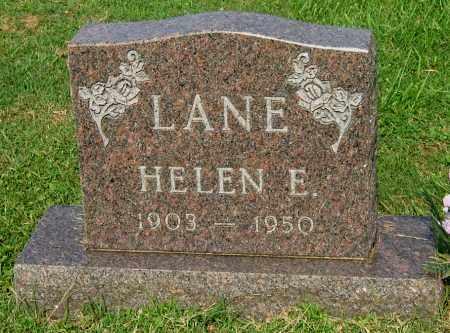 LANE, HELEN ELIZABETH - Gallia County, Ohio | HELEN ELIZABETH LANE - Ohio Gravestone Photos