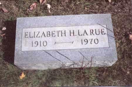 LARUE, ELIZABETH - Gallia County, Ohio   ELIZABETH LARUE - Ohio Gravestone Photos