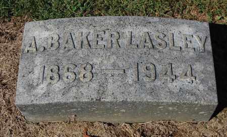 LASLEY, AMOS BAKER - Gallia County, Ohio   AMOS BAKER LASLEY - Ohio Gravestone Photos