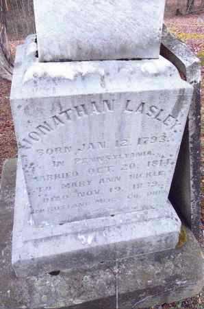 LASLEY, JONATHAN - Gallia County, Ohio | JONATHAN LASLEY - Ohio Gravestone Photos