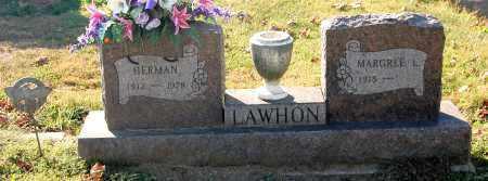 LAWHON, HERMAN - Gallia County, Ohio | HERMAN LAWHON - Ohio Gravestone Photos