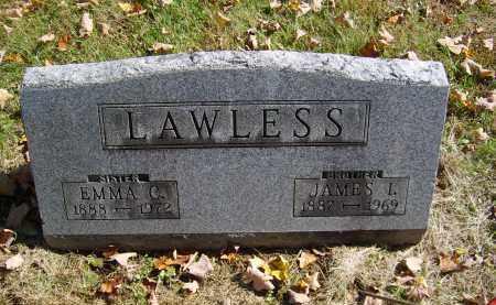 LAWLESS, EMMA - Gallia County, Ohio | EMMA LAWLESS - Ohio Gravestone Photos