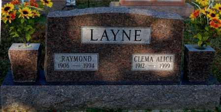 LAYNE, RAYMOND - Gallia County, Ohio | RAYMOND LAYNE - Ohio Gravestone Photos