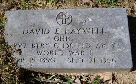 LAYWELL, DAVID - Gallia County, Ohio | DAVID LAYWELL - Ohio Gravestone Photos