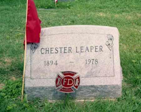 LEAPER, CHESTER - Gallia County, Ohio   CHESTER LEAPER - Ohio Gravestone Photos