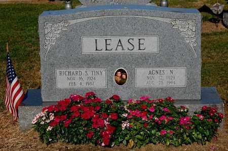 LEASE, AGNES N - Gallia County, Ohio | AGNES N LEASE - Ohio Gravestone Photos