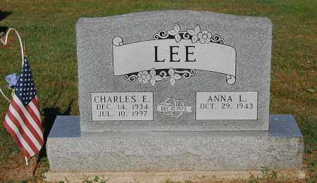 LEE, CHARLES E - Gallia County, Ohio | CHARLES E LEE - Ohio Gravestone Photos