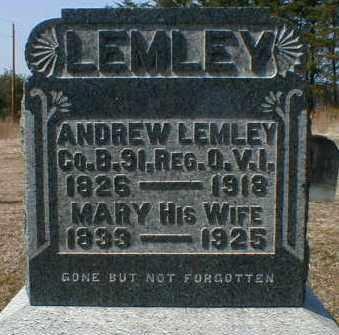 LEMLEY, MARY - Gallia County, Ohio | MARY LEMLEY - Ohio Gravestone Photos