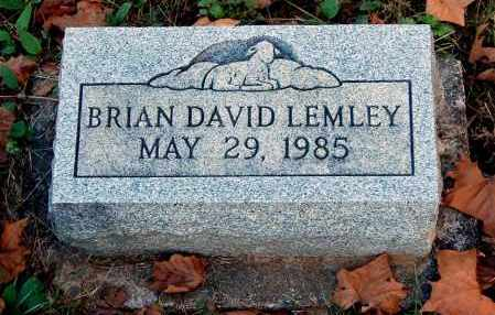 LEMLEY, BRIAN DAVID - Gallia County, Ohio | BRIAN DAVID LEMLEY - Ohio Gravestone Photos