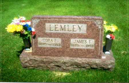 RALPH LEMLEY, CORA ELLEN - Gallia County, Ohio | CORA ELLEN RALPH LEMLEY - Ohio Gravestone Photos