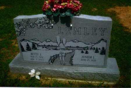 LEMLEY, JUNIOR L. - Gallia County, Ohio | JUNIOR L. LEMLEY - Ohio Gravestone Photos