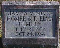LEMLEY, JAMES - Gallia County, Ohio | JAMES LEMLEY - Ohio Gravestone Photos