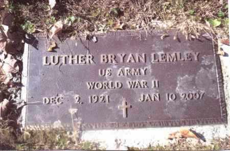 LEMLEY, LUTHER BRYON - Gallia County, Ohio | LUTHER BRYON LEMLEY - Ohio Gravestone Photos