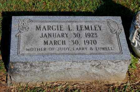 LEMLEY, MARGIE L - Gallia County, Ohio | MARGIE L LEMLEY - Ohio Gravestone Photos