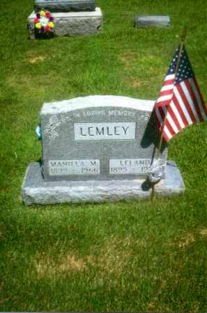 DARST LEMLEY, MANILLA M. - Gallia County, Ohio | MANILLA M. DARST LEMLEY - Ohio Gravestone Photos