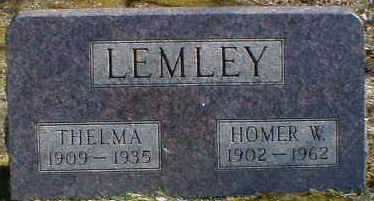 LEMLEY, HOMER - Gallia County, Ohio | HOMER LEMLEY - Ohio Gravestone Photos