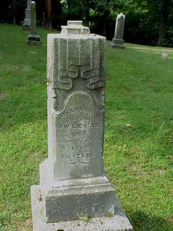 ROUSH LESLIE, SUSANNAH - Gallia County, Ohio | SUSANNAH ROUSH LESLIE - Ohio Gravestone Photos