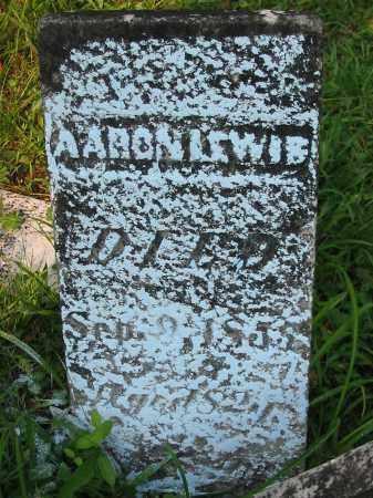 LEWIS, AARON - Gallia County, Ohio | AARON LEWIS - Ohio Gravestone Photos
