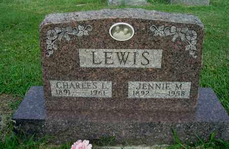 LEWIS, JENNIE M - Gallia County, Ohio | JENNIE M LEWIS - Ohio Gravestone Photos