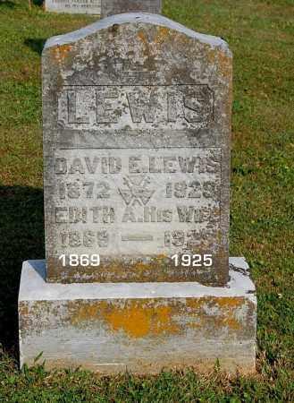 LEWIS, EDITH A - Gallia County, Ohio | EDITH A LEWIS - Ohio Gravestone Photos