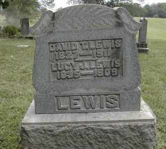 LEWIS, DAVID - Gallia County, Ohio | DAVID LEWIS - Ohio Gravestone Photos