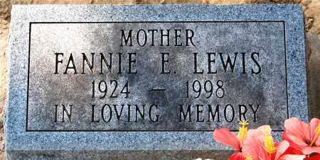 LEWIS, FANNIE - Gallia County, Ohio   FANNIE LEWIS - Ohio Gravestone Photos