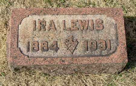 LEWIS, IRA E. - Gallia County, Ohio | IRA E. LEWIS - Ohio Gravestone Photos
