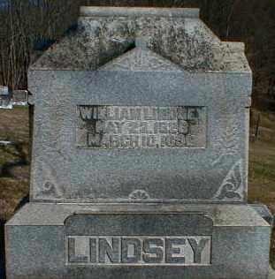 LINDSEY, WILLIAM - Gallia County, Ohio | WILLIAM LINDSEY - Ohio Gravestone Photos