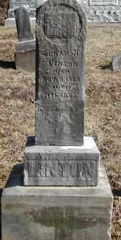 LINTON, SENAH U. - Gallia County, Ohio | SENAH U. LINTON - Ohio Gravestone Photos