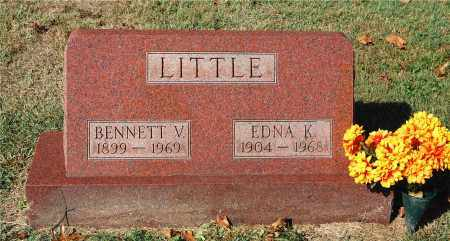 LITTLE, BENNETT V. - Gallia County, Ohio | BENNETT V. LITTLE - Ohio Gravestone Photos