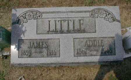 HYSELL LITTLE, ADDIE - Gallia County, Ohio | ADDIE HYSELL LITTLE - Ohio Gravestone Photos