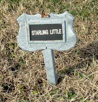 LITTLE, STARLING - Gallia County, Ohio | STARLING LITTLE - Ohio Gravestone Photos
