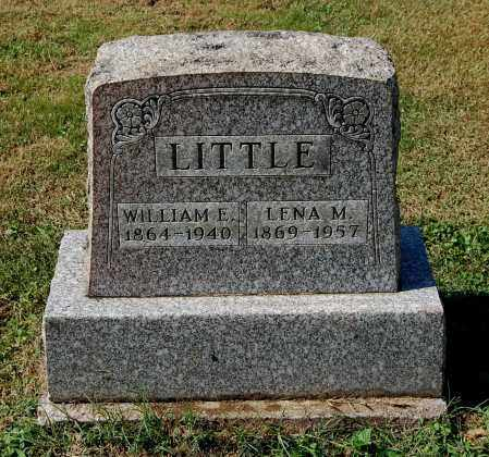 LITTLE, WILLIAM EDGAR - Gallia County, Ohio | WILLIAM EDGAR LITTLE - Ohio Gravestone Photos