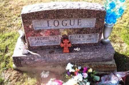 LOGUE, ARCHIE O. - Gallia County, Ohio | ARCHIE O. LOGUE - Ohio Gravestone Photos
