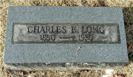 LONG, CHARLES EZRA - Gallia County, Ohio | CHARLES EZRA LONG - Ohio Gravestone Photos