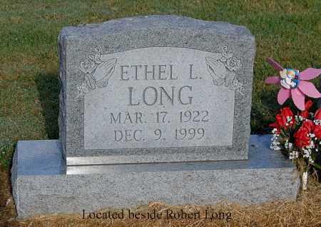 LONG, ETHEL L - Gallia County, Ohio   ETHEL L LONG - Ohio Gravestone Photos