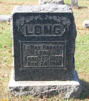 LONG, LEROY PARKER - Gallia County, Ohio | LEROY PARKER LONG - Ohio Gravestone Photos