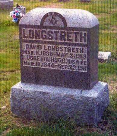 LONGSTRETH, DAVID - Gallia County, Ohio   DAVID LONGSTRETH - Ohio Gravestone Photos